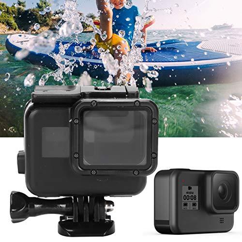 Annjom Estuche de Carcasa Impermeable, Estuche Protector de estanqueidad al Aire Fuerte, para cámaras de Movimiento Esnórquel Natación GoPro Hero 5 6 7 Cámaras de Movimiento Deportes acuáticos