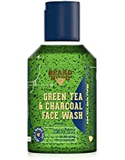 Beardhood Green Tea Charcoal Face Wash with Activated Char