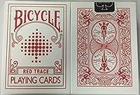 トランプ珍しい自転車RED TRACEのデッキ Rare Bicycle RED TRACE Deck Playing Cards