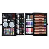 SSeir Art Sets, 145 piezas de arte de inspiración para dibujar y esbozar lápices de colores, juego de pintura, es un gran regalo para niños y adultos