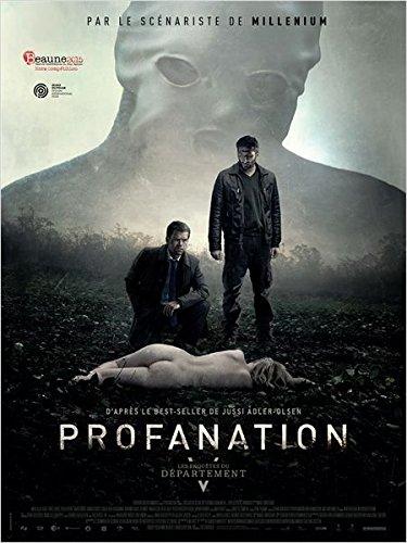 Affiche Cinéma Originale Grand Format - Les Enquêtes Du Département V : Profanation (format 120 x 160 cm pliée)