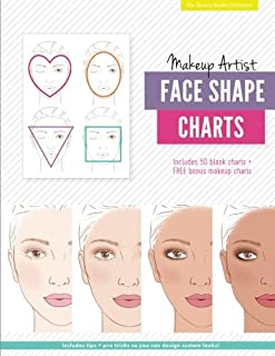 Makeup Artist Face Shape Charts (The Beauty Studio Collection)