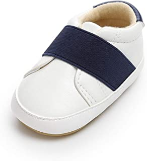 Lidiano Baby Infant Anti-Slip Sole Loafers Flats Shoes Slippers 0-18 Months