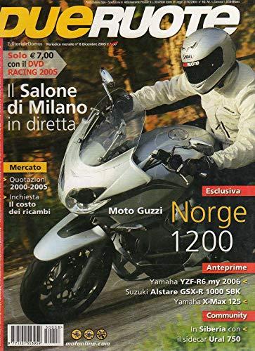 Dueruote Due Ruote 8 dicembre 2005 Moto Guzzi Norge 1200-Aprilia Torino 1000 R
