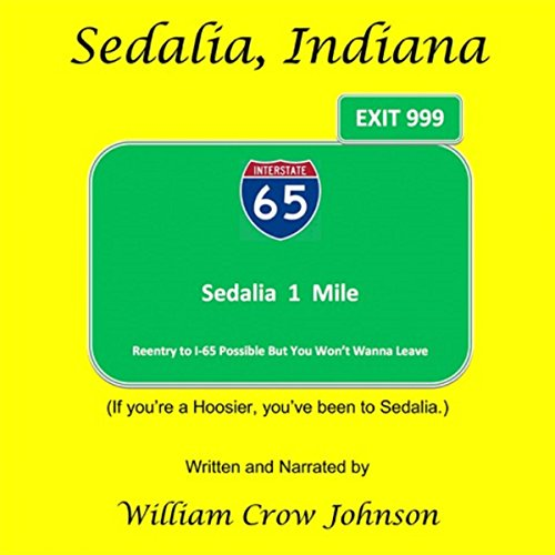 Sedalia, Indiana audiobook cover art
