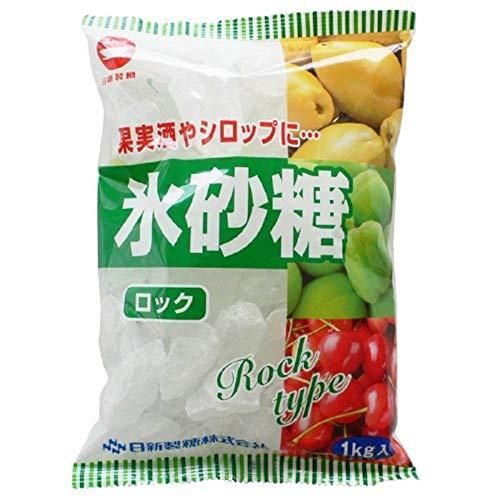 日新製糖 調味料 氷砂糖 氷砂糖ロック 1kg 3袋単位