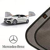 Cortinillas Parasoles Coche Laterales Traseras a Medida para Mercedes-Benz A-klasse (3) (W176) (2012-2018) Hatchback 5 Puertas