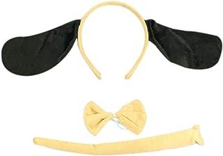 Amosfun 2Pcs Long Ear Dog Headbands Cartoon Puppy Dog Ears Headband Performance Role Play Cosplay Party Headwear