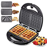 Best Waffle Makers - Yabano Waffle Maker 3 in 1, Toastie Maker Review