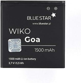 Blue Star Premium - Batería de Li-Ion litio 2000 mAh de Capacidad Carga Rapida 2.0 Compatible con el Wiko Goa