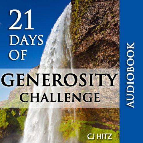21 Days of Generosity Challenge audiobook cover art