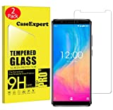 CaseExpert 2 Pack - OUKITEL K8 Protector de Pantalla, Ultra Tanque Transparente Cristal 9H Cristal Templado Glass Protector de Pantalla para OUKITEL K8