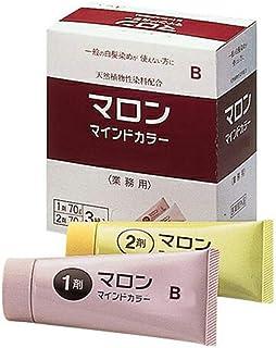 【サイオス】マロン マインドカラー B 明るいブラウン 70g×3/70g×3
