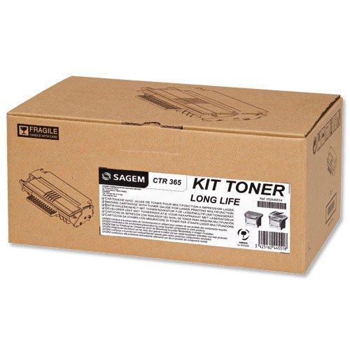 Sagem CTR 365 Tóner de láser 4000páginas Negro tóner y cartucho láser - Tóner para impresoras láser (Tóner de láser, 4000 páginas, Negro, 1 pieza(s))