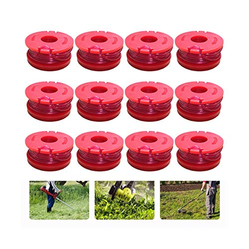 Find Discount LLguz Weed Trimmer Edger Spool Line String Weeder Replacement Accessory for Worx Cordl...
