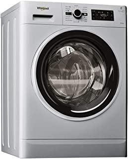 Whirlpool Freestanding Washer Dryer, 9/6 kg - FWDG96148SBS, 1 Year Warranty