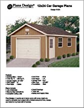 shed plans 12x24