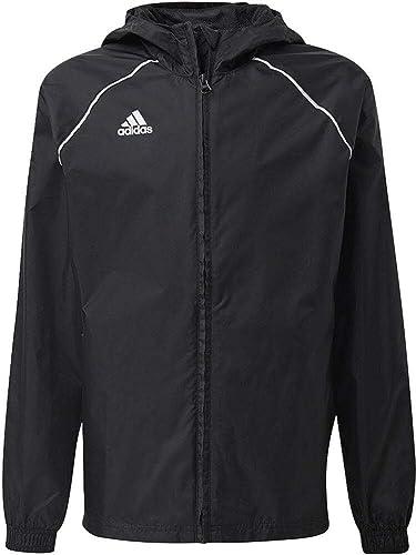 Adidas Core 18 Pantalon de randonnée Garçon, Noir/Blanc, 13-14 A