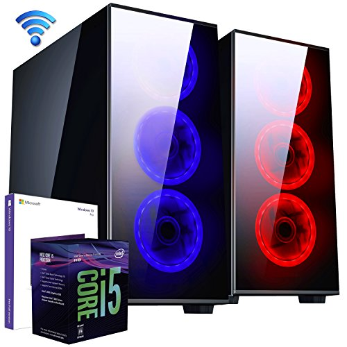 PC DESKTOP GAMING▬DILC MIZAR▬LICENZA WINDOWS 10 PRO▬ASSEMBLATO COMPLETO▬COMPUTER FISSO Intel SIX-CORE i5-8400 fino a 3.8 GHZ▬SK VIDEO GTX 1050 Ti 4GB▬RAM 8GB▬SSD+HD 1TB▬WIFI▬550W 80+
