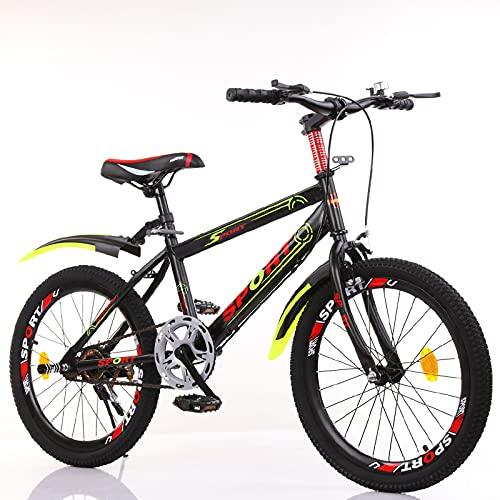 LICHUXIN Bicicleta De Moda para Niños De 18/20/22/24 Pulgadas, Bicicletas De Cross-Country De Un