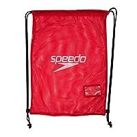 speedo equipment mesh, borsa unisex adulto, rosso (red), taglia unica