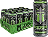 ADD FIRE TO THE FUEL | Ignite your workouts & add fire to the fuel! Introducing Reign Inferno, a new thermogenic fuel that burns calories & accelerates metabolism with 300MG of natural caffeine, BCAAs, electrolytes, and zero sugar. JALAPENO STRAWBERR...