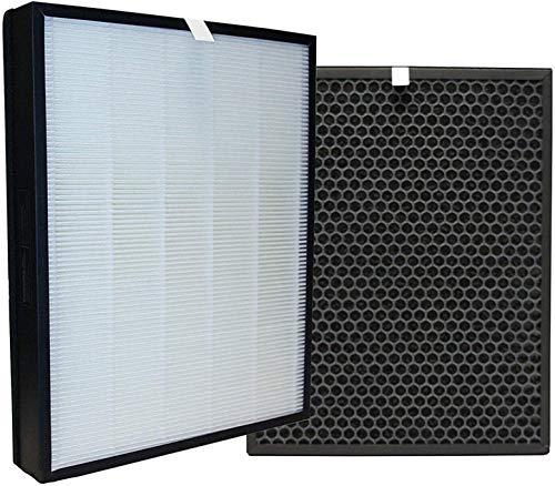 Fantisi Kit de filtros HEPA de repuesto y carbón activado, filtro FY3432/10 y FY3433/10, para purificador de aire Philips AC3256/10, AC3259/10, AC4550/10.