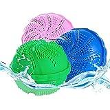 XM-ZHHY Lot de 2 boules à linge respectueuses de l'environnement, 1000 boules de lavage réutilisables pour machine à laver, renforcer l'effet de lavage et prévenir l'enchevêtrement.