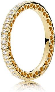 PANDORA 心形 PANDORA 18k 镀金 PANDORA Shine 系列戒指