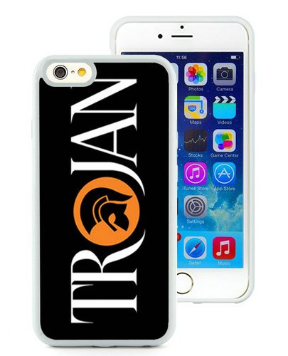 Troya británico Ska música Rock Reggae Dub etiqueta de registro negro teléfono móvil para iphone 6s 4.7inch, iPhone 6TPU caso