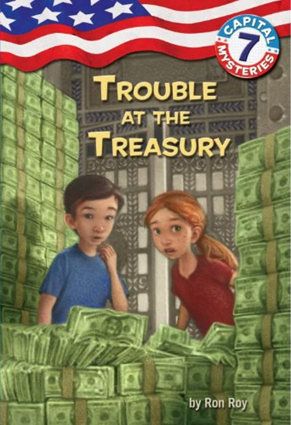 メンタリティスロープピンCapital Mysteries #7: Trouble at the Treasury (English Edition)