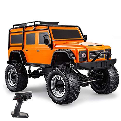Weaston 1/10 Modelo Modelo Control Remoto Simulación de automóvil Suspensión 4WD Off-Road RC Vehículo Bigfoot Monster Stimbating Car 20 Inch Super Niños Juguetes para niños Regalos