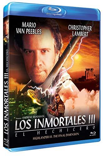 Los Inmortales III. El Hechicero DVD Highlander III. The Final Dimension [Blu-ray]