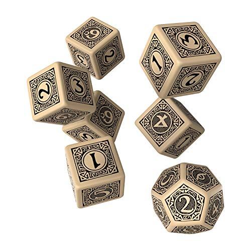 Q Workshop The One Ring RPG Dice Set 6 x D6+ D12