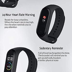 Xiaomi Pulsera inteligente Bluetooth con monitor de frecuencia cardíaca Negro