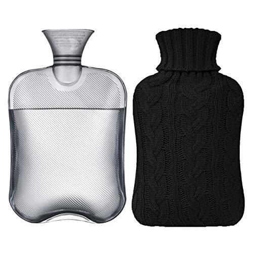 Two-liter Transparent Hot Water Bottle