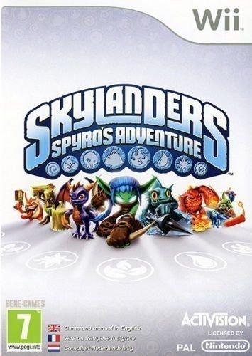 Nintendo Wii Skylanders Spyros Adventure PREOWNED