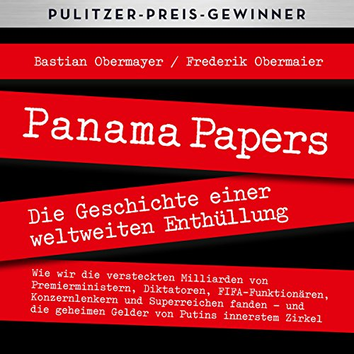 Panama Papers audiobook cover art