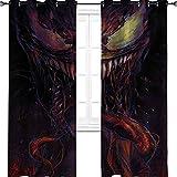 """Veleno teaser fumetti avengers fondos de pantalla Room Darkening isolamento termico oscurante tenda per finestra soggiorno 72""""W x 96""""L"""