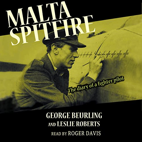 Malta Spitfire audiobook cover art