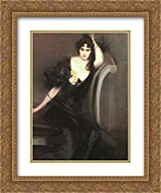 Lady Colin Campbell 20x24 Gold Ornate Frame and Double Matted Museum Art Print by Giovanni Boldini