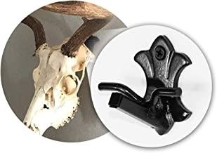 Buck Bracket - European Deer Skull Hanger Mount kit for Whitetail and Mule Deer sized game - Made by Skull Bracket - World's Strongest Hanger - Oil Rubbed Bronze Finish - Proudly Handcrafted in USA.