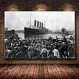 GaoDashan Titanic Klassiker Leonardo Dicaprio Kunst Malerei
