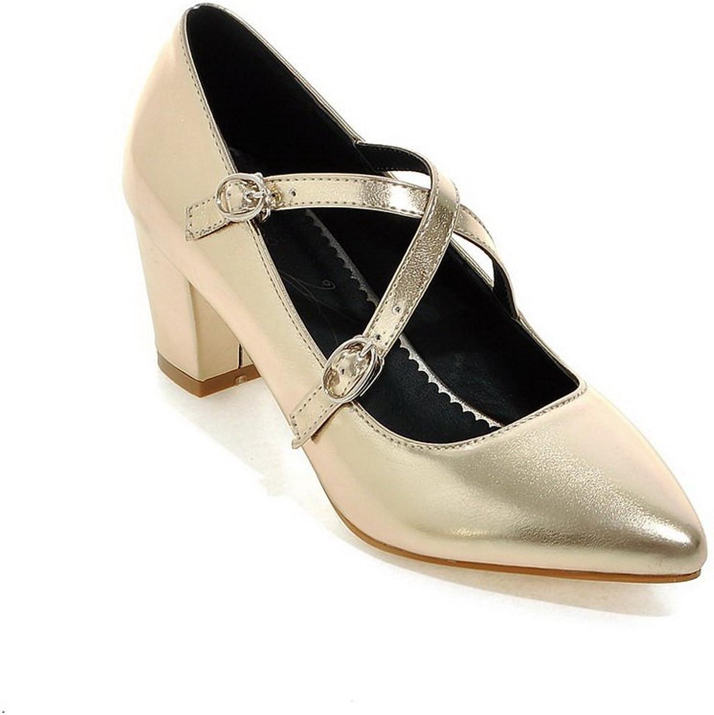 AN Womens Non-Marking Water_Resistant High-Heel Urethane Sandals DIU00792