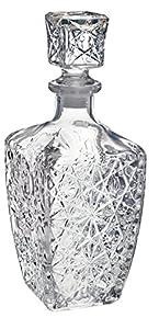 Bormioli Rocco Weindekanter aus Glas für Spirituosen, Dedalo-800ml (28oz).