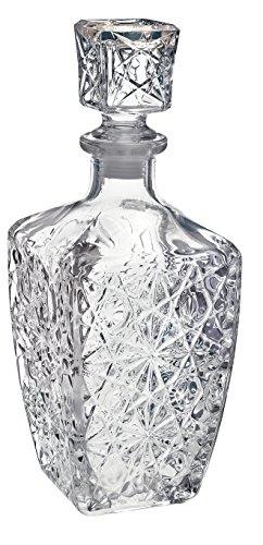 Wijndecanter van glas voor sterke dranken, Bormioli Rocco Dedalo – 800 ml (28 oz).