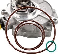 Vacuum Brake Pump Seals & Rebuild Kit Compatible with 2005-2008.5 Audi TT A3 A4 Quattro VW Jetta GTI GLI Passat 2.0T FSI MKv, B6, 8P, B7 Gasket O-Ring OE# 06D145100H, 06D145100E 06D145117A