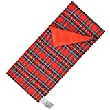 E-TING Sleeping Bag Christmas Accessory for Elf Doll (Doll is not Included) (Red Plaid)