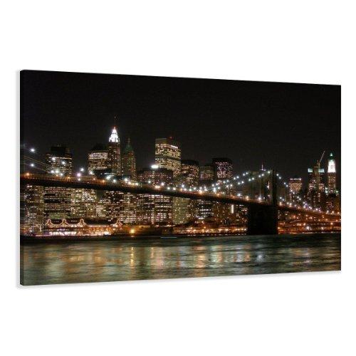 120 x 80 cm Cuadro en Lienzo Nueva York USA 5008-SCT – Imagen/Impresion/Pintura...