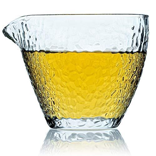 Caraffa Vetro Designer Brocca Tè - Perfetto Per Il Caldo O Il Freddo - Caraffe Vetro Spesso Di Miscelazione 250 ml